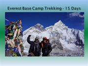 Everest Base Camp Trekking - 15 Days