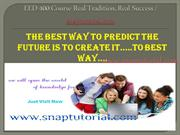 EED 400 Course Real Tradition, Real Success / snaptutorial.com