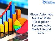 Automatic Number Plate Recognition Systems sales Market Analysis