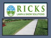 Lawn Mowing - Spring Clean Up - Fall Clean Up - RICKS
