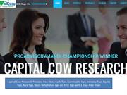 Capital Cow Research is sell calls in Mcx Commodity Tips