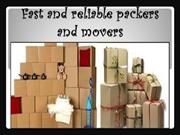 Fast and reliable packers and movers@11th.in