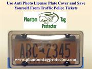 Use Anti Photo License Plate Cover and Save Yourself From Traffic Poli