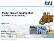 Market Intelligence Egg Carton Market, 2017-2027