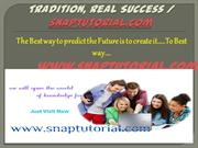 ENG 225 Course Real Tradition, Real Success / snaptutorial.com