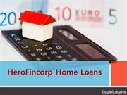 HeroFincorp Home loan, Apply For HeroFincorp Home loans Online