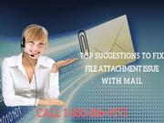 Top Suggestions to Fix File Attachment Issue with Yahoo Mail
