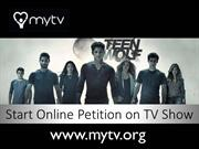 Start Online Petition on TV Show