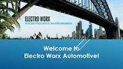 Electro Worx Automotive - Mobile Auto Electrician