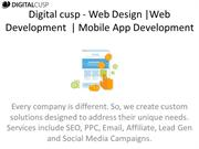Digital cusp - Web Design