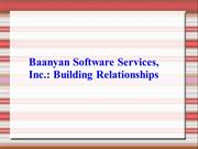 Baanyan Software Services : Building Relationships