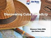 discovering cuba roundtrip