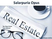 Flats Of 1BHK, 2BHK, 3BHK And More At Affordable Price On Salarpuria