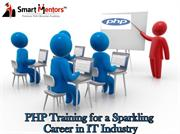 Why PHP training is must for bright career in web development?