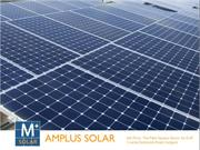 Get Solar Power for Commercial Use at Amplus Solar