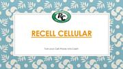 Presentation for Recell Cellular