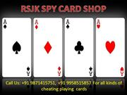 Soft Contact Lens With Spy Cheating Playing Cards in Delhi
