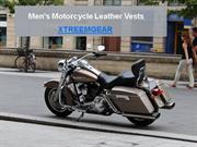 Motorcycle Leather Vests