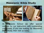 Messianic Bible Study