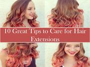 10 Tips to Properly Care for Hair Extensions