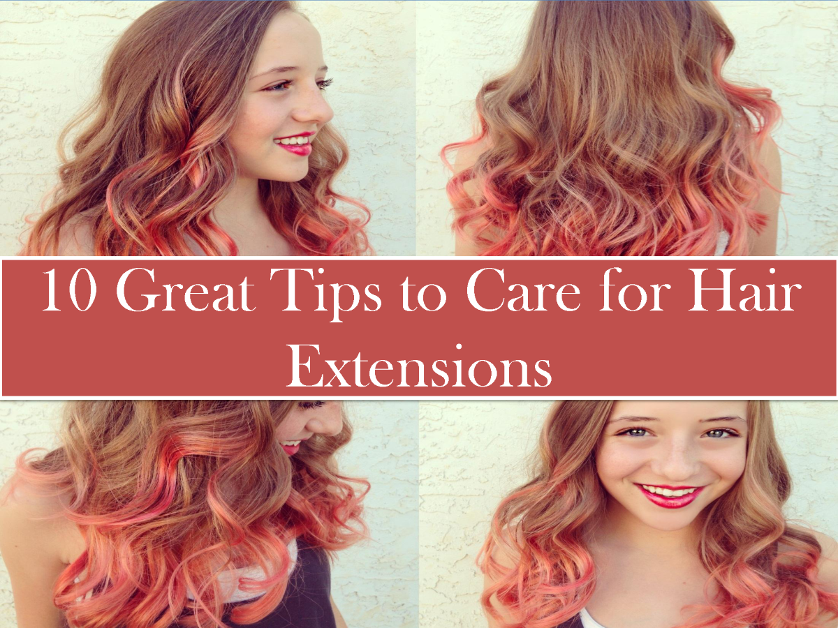 10 Tips To Properly Care For Hair Extensions Authorstream