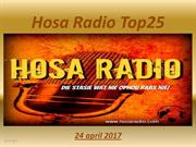 Hosa Radio Top25  24-04-2017