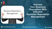 Improve Business Reputation With Best Business Reputation Management
