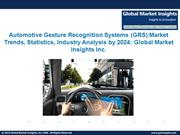 Automotive Gesture Recognition System Market 2016 - 2024