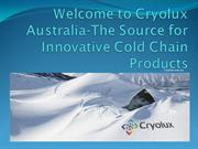 Cryolux-Source for Innovative Cold Chain Products
