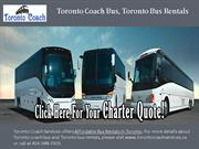 Toronto Bus Rentals, Affordable Bus Rentals Toronto