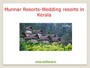 Wedding resorts in Kerala|  wedding venues in Kerala
