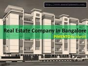 Real Estate Company in Bangalore | Property in Bangalore For Sale