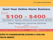 Steps to Consider Before Starting a Tour and Travel Website