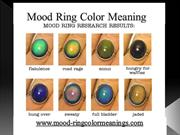 Mood Ring Color Meaning