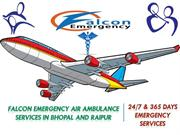 Reliable Air Ambulance Services in Bhopal to Delhi is Available Now