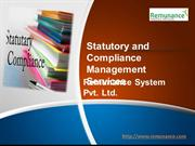 Statutory and Compliance Management Services -Remunance