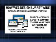 How Web Design Surrey Wide Fits Into An Online Marketing Strategy