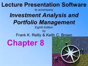 Investment Analysis and Portfolio Management 8th Reilly and Brown Chap
