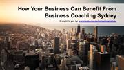 How Your Business Can Benefit From Business Coaching Sydney