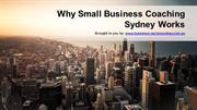 Why Small Business Coaching Sydney Works