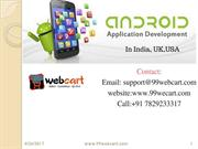 ANDROID DEVELOPMENT IN BANGALORE
