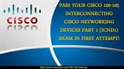 Cisco 100-105 Braindumps - Cisco 100-105 CCIE Exam Certification