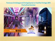 Minneapolis Party Bus Rental | Twin Cities party Bus