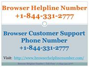 browser customer service phone number +1-844-331-2777