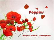 1-Apr 21-Spring Flowers-Poppies-Stranger in Paradise
