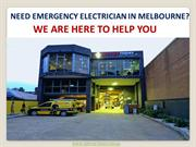 Need Reliable Electrical Contractor in Melbourne? Here We Are!
