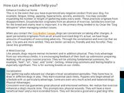 How can a dog walker help you?