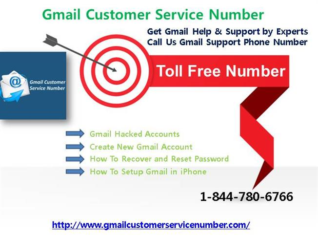 Gmail Support Phone Number 1-844-780-6766 |authorSTREAM