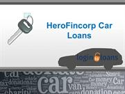 HeroFincorp Car Loans, Apply For HeroFincorp Car Loans Online, HeroFin