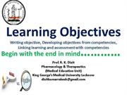Learning Objectives Dr Dixit